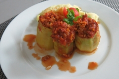 Punjene paprike sa pire krompirom 2