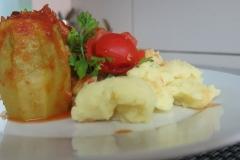 Punjene paprike sa pire krompirom 3
